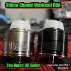Massive 30mm Cloned Warhead RDA by MCV - Black or SS - Top Rated US Seller