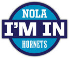 "New Orleans Hornets NBA Sport Car Bumper Sticker Decal ""SIZES"" on eBay"