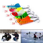 16.5g 65mm Winter Ice Sea Sinking Hard Fishing Lures VIB Bait Diving Swivel JigJ