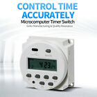 LCD Digital Timer Switch Relay Programmable Power Electronic DC 12V / DC24V US photo