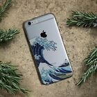 Case phone the Great Wave off Kanagawa Soft TPU Case For iPhone, Samsung Galaxy