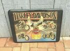 Vintage Harley Davison Wall Decor S.D. Liebelt Legends Garage Mancave Pool