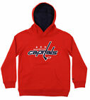 Reebok NHL Youth Washington Capitals Basic Prime Logo Pullover Hoodie $17.5 USD on eBay
