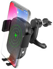 Squish Wireless Car Charger, Qi Fast Wireless Charging Phone Holder Car Phone Xs