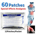 60Patches Hisamitsu SALONPAS Muscle Arthritis Aches Stiff Neck Joint Pain Relief