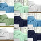 MANY SIZE SUPER SOFT DEEP POCKET (6) PIECE SHEET SET BED SHEETS IN 5 COLORS LC image