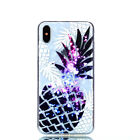 Pineapple Diamond Pattern TPU Clear Soft Phone Case Cover For iPhone 6s-XS Max