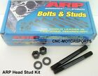 ARP HEAD STUD KIT 208-4601 HONDA/ACURA B16A 12 POINT NUTS U/C STUDS