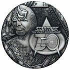 2017-P $2 Tuvalu Star Trek TNG Lt. Commander Worf 2oz HR Antiqued Coin on eBay