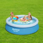 78''x20'' Summer Inflatable Easy Set Above Ground Swimming Pool Large 3 Rings
