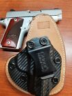 FITS KIMBER MODELS IWB HYBRID HOLSTER KYDEX & LEATHER  CCW