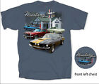 Mustang Service Station T-Shirt - Coupes, Fastbacks & Shelbys All On One Shirt!