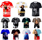 Hot Rapper Nipsey Hussle 3D Print Casual T-Shirt Men Women Short Sleeve Tee Top