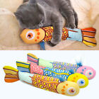 Cute Cat Favor Fish Toy Funny Stuffed Interactive Pet Kitten Play Toys & Catnip
