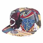 Mitchell & Ness NBA Paysage All Over Team Printed Graphic Adjustable Snapback... on eBay