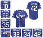 Men's Los Angeles Dodgers 1999 Coopstown Throwback Royal Blue Replica Jersey on Ebay
