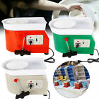 DIY Electric Pottery Wheel Machine Set For Ceramic Work Clay Craft 350W 25CM HOT image