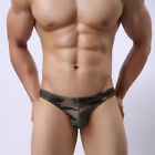 USA SHIP CAMOUFLAGE PRINT MEN UNDERWEAR SEXY SHORTS  BRIEF ADULT MALE LINGERIE