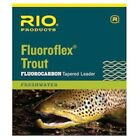 Rio Fluoroflex 9 ft Knotless Tapered Leaders 0X - Fly Fishing