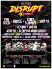 ROCKSTAR DISRUPT FESTIVAL 7/10 DETROIT, MI The Used Thrice Circa Survive Charity
