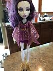 White And Purple Monster High Doll