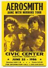 VINTAGE RARE BAND ROCK Posters A4 Blues Concert Tour Music ACDC NIRVANA BEATLES