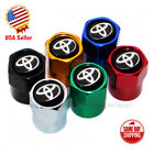Hex For Toyota Logo Emblem Car Wheels Tire Air Valve Caps Stem Dust Cover Sport $8.88 USD on eBay