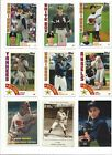 2019 TOPPS SERIES 2 INSERTS - 84 ALL-STARS - ROOKIES, ICONIC REPRINTS - U PICK!!