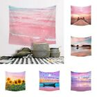 3d Printing Tapestry Pink Romantic Wall Hanging Backdrop Beach Style Wall Chart