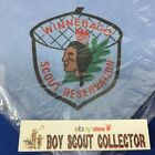 Boy Scout Winnebago Scout Reservation Blue Neckerchief