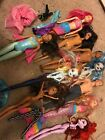 Lots Of 10 Barbie Dolls ( Barbie And Monstet High