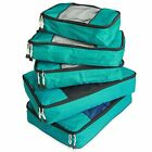 5Pc LUGGAGE ORGANIZER TRAVEL STORAGE PACKING CUBE System Portable Bag Packing Se
