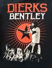 Dierks Bentley Concert T-Shirt Locked & Reloaded Tour Womens Tee 2013 Size Small
