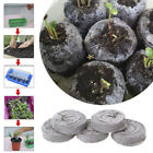 5/20/100pcs 30mm Jiffy Peat Pellets Seed Starting Plugs Seeds Seedling Soil n MA