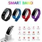 Smart Watch Sports Fitness Activity Heart Rate Tracker Blood Pressure Calories B