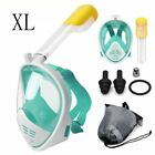 Full Face Snorkel Mask Diving Goggles Snorkeling Gear Scuba Dive Anti Fog Sea