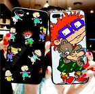Rugrats Cartoon Cute, Soft TPU Black Silicone Case for iPhone for Samsung Galaxy