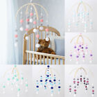 Kyпить Baby Mobile Tent Crib Nursery Decor Wool Felt Pom Pom Ball Wooden Wind Bell Gift на еВаy.соm