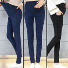 Fashion Casual Belly Maternity Jeans Pencil Trousers For Pregnant Women So#yuy