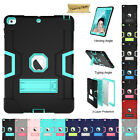 """For Apple iPad Prp 9.7"""" Air 12 Mini 1234 Hard PC Armor Military Stand Case Cover"""