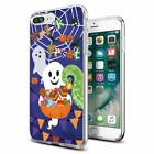 Cocomong Cute Halloween Trick Or Treat Ghosts Clear Iphone Case For Iphone 8 Plu