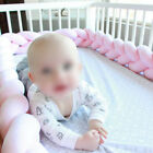 Infant Plush Crib Bumper Bed Bedding Woven Protection Fence Cradle Photography