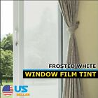 Apartment Home Window Film Tint Glass Sticker Privacy Reflective | Frosted White