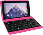 Pink 7 16GB Tablet with Keyboard 360° Touchscreen Intel Quad Core