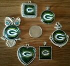 NFL Football Heart Team Pendant Charms Necklace lot pick your team Jewelry L@@K $19.99 USD on eBay