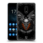 HEAD CASE DESIGNS SKULL BIKERS GEL CASE FOR NOKIA PHONES 1