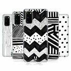 HEAD CASE DESIGNS BNW DOODLE SOFT GEL CASE FOR SAMSUNG PHONES 1