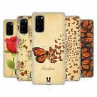 HEAD CASE DESIGNS MONARCH BUTTERFLY PRINTS GEL CASE FOR SAMSUNG PHONES 1