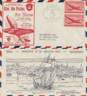 US 1946 CIVIL AIR PATROL AIR SHOW COMMEMORATIVE FLOWN COVER BEVERLY MASS