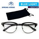 Anti Blue Light & Anti Block Glare Computer Game Reading Glasses Readers Unisex